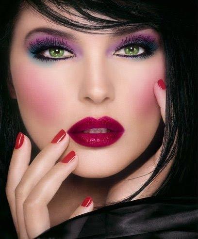 Lindas maquiagens para se inspirar... (3/3)