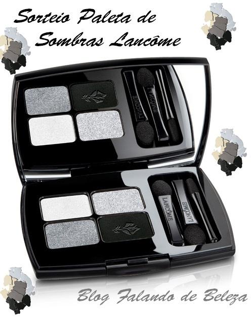 Sorteio luxo!! Paleta de sombras da Lancôme