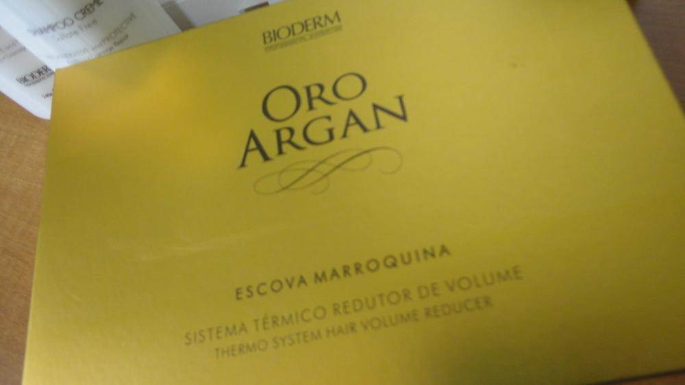 Novo sorteio no ar! Super kit para cabelos Bioderm, linha Oro Argan (3/3)