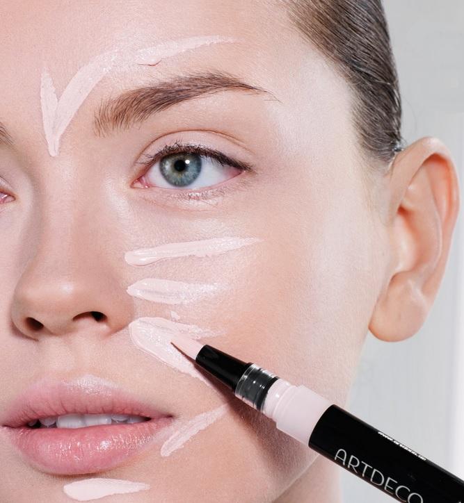 Plano de acne de inspeção