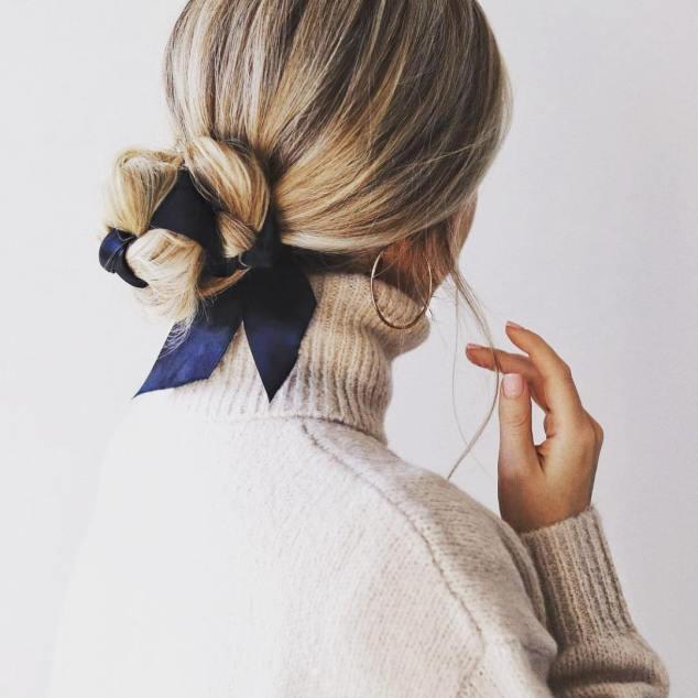 Penteado-Inspiração-Coque-Baixo-com-Laço