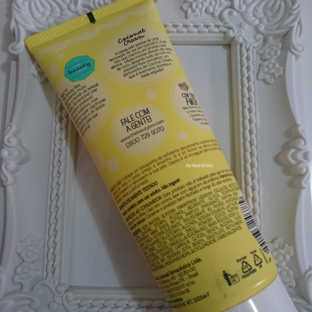 Esfoliante Coconut Cream The Beauty Box 1
