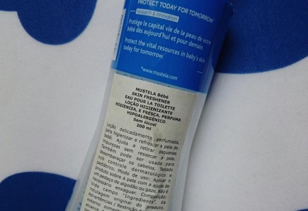 Água de Toilette Mustela Bebe Skin Freshener Eau Pour