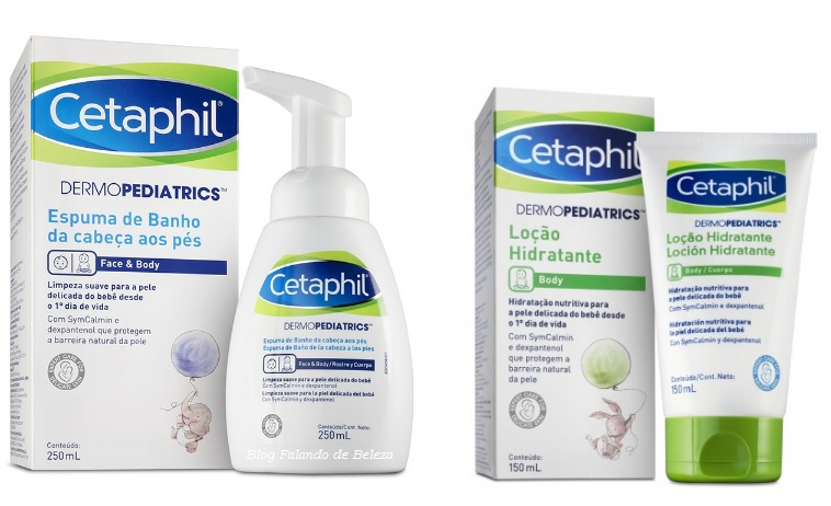 Cetaphil Dermopediatrics pele bebê