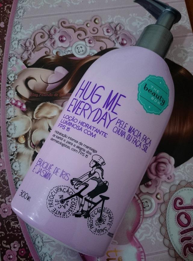 Loção Hidratante FPS15 Hug Me Everyday Buquê de Íris e Jasmin -  The Beauty Box