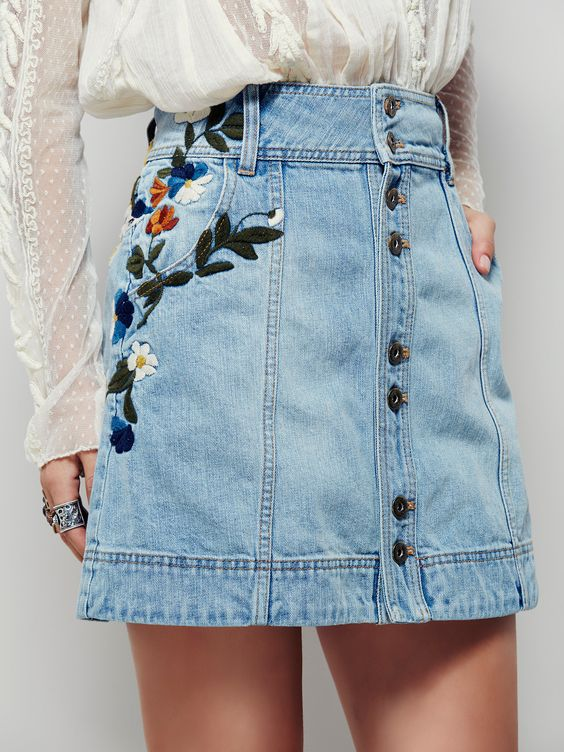 trends-bordado-skirt-jeans