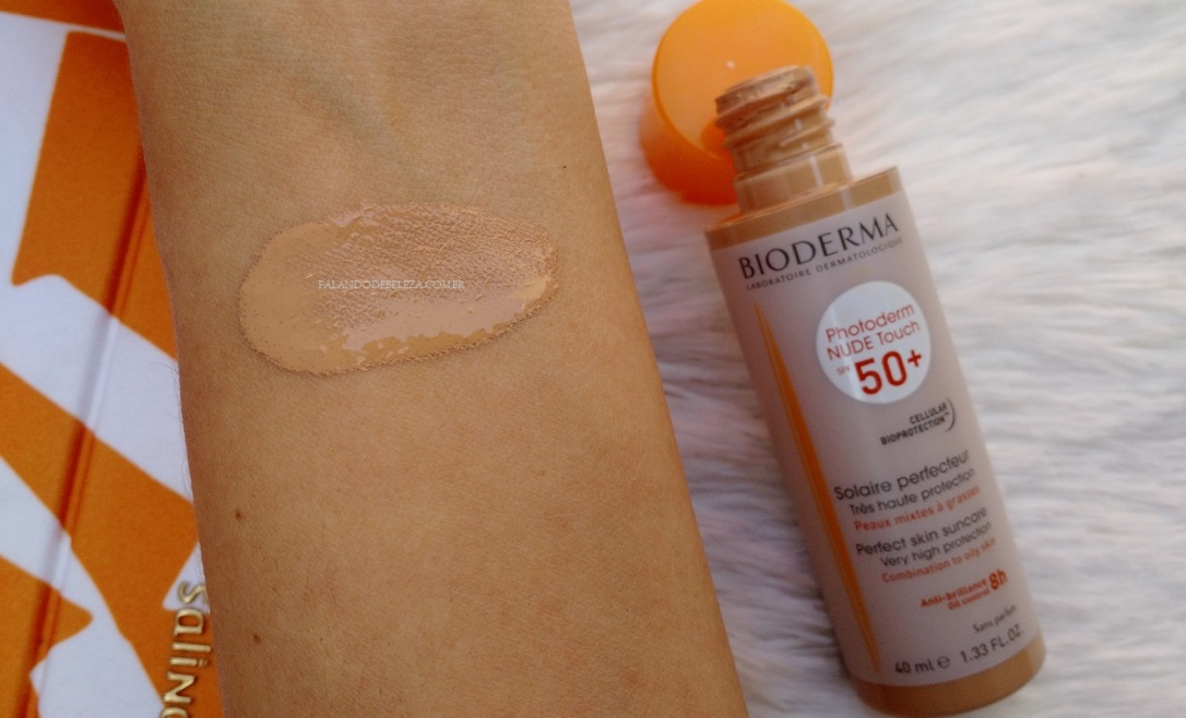 Bioderma-Photoderm-Nude-Touch-FPS50-Textura