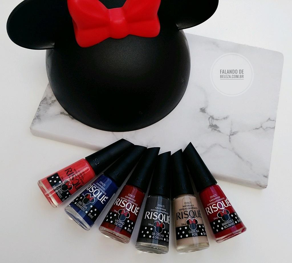 Esmaltes-Risqué-Coleção-Minnie-Mouse