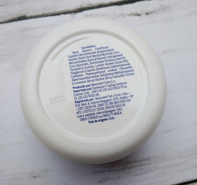 NIVEA-Soft-Hidratante-rosto-corpo-mãos-ingredientes