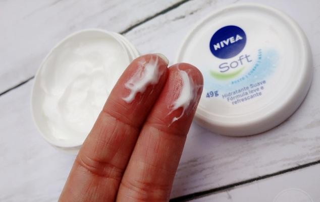 NIVEA-Soft-Hidratante-rosto-corpo-mãos-resenha